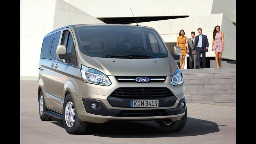 Pkw-Feeling: Ford Tourneo Custom