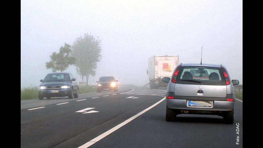 Achtung Nebel: Sehen und gesehen werden