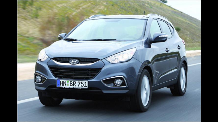 Kompaktes Korea-SUV: Der neue Hyundai ix35 im Test
