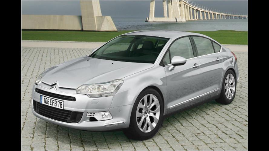 Fortschritt im Doppelwinkel: Die neue Citroën C5 Limousine