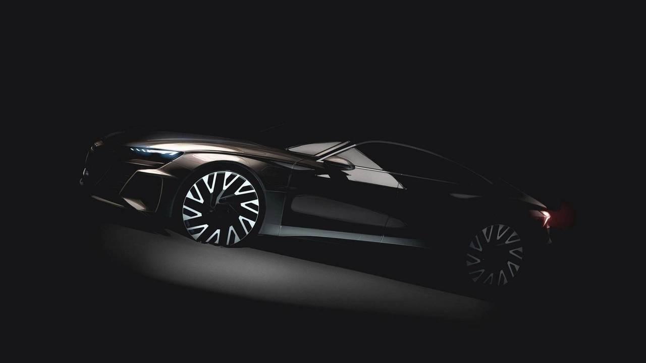 Audi E-Tron GT prototype teaser