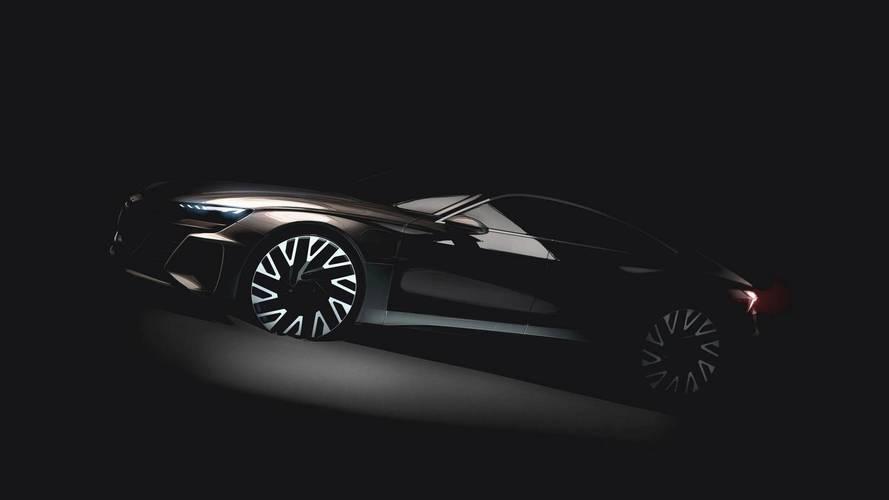 Audi Teases Sensuous E-Tron GT Due Early Next Decade