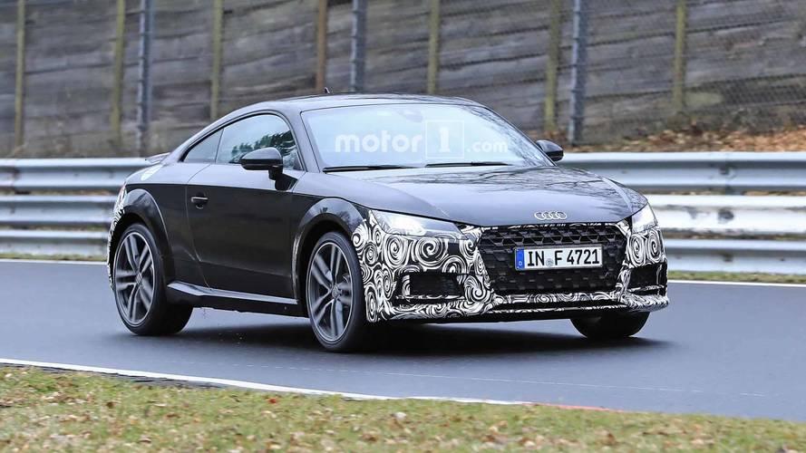 Audi TT 2019: nuevas fotos espía, con apenas camuflaje