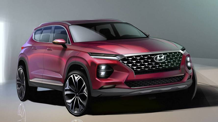 2019 Hyundai Santa Fe Teased Ahead Of February Reveal [UPDATE]