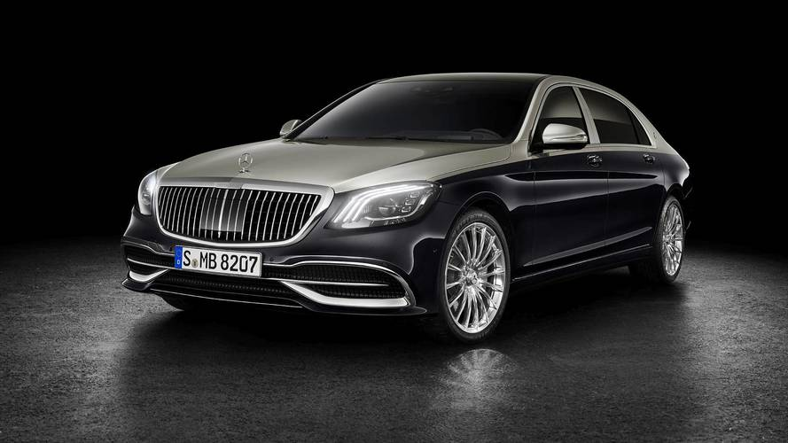 Mercedes-Maybach S-Class update revealed ahead of Geneva
