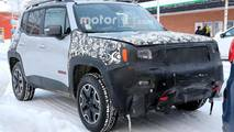 Jeep Renegade Refresh Spy Shots
