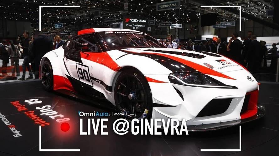 Toyota Supra, a Ginevra primo assaggio della nuova sportiva