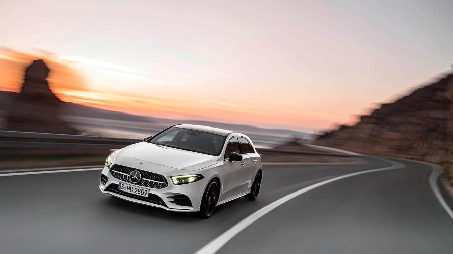 Fotókon az új Mercedes A-osztály