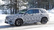 2020 Mercedes-AMG GLE 63 New Spy Photos