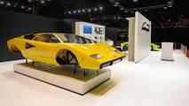 Lamborghini Polo Storico At Salon Retromobile