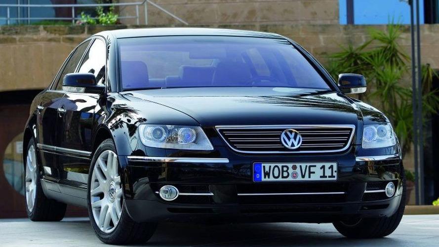 Volkswagen'in eski lüks sedanı Phaeton'a tekrar bakalım