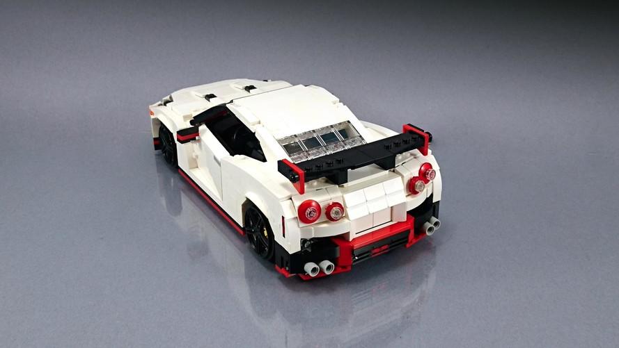 La Nissan GT-R Nismo en Lego