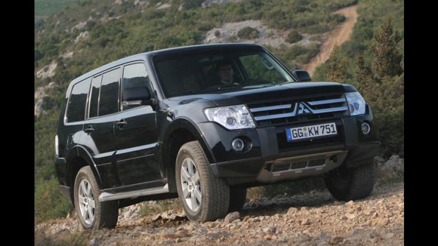 Preise fix: Mitsubishi Pajero kommt Anfang 2007