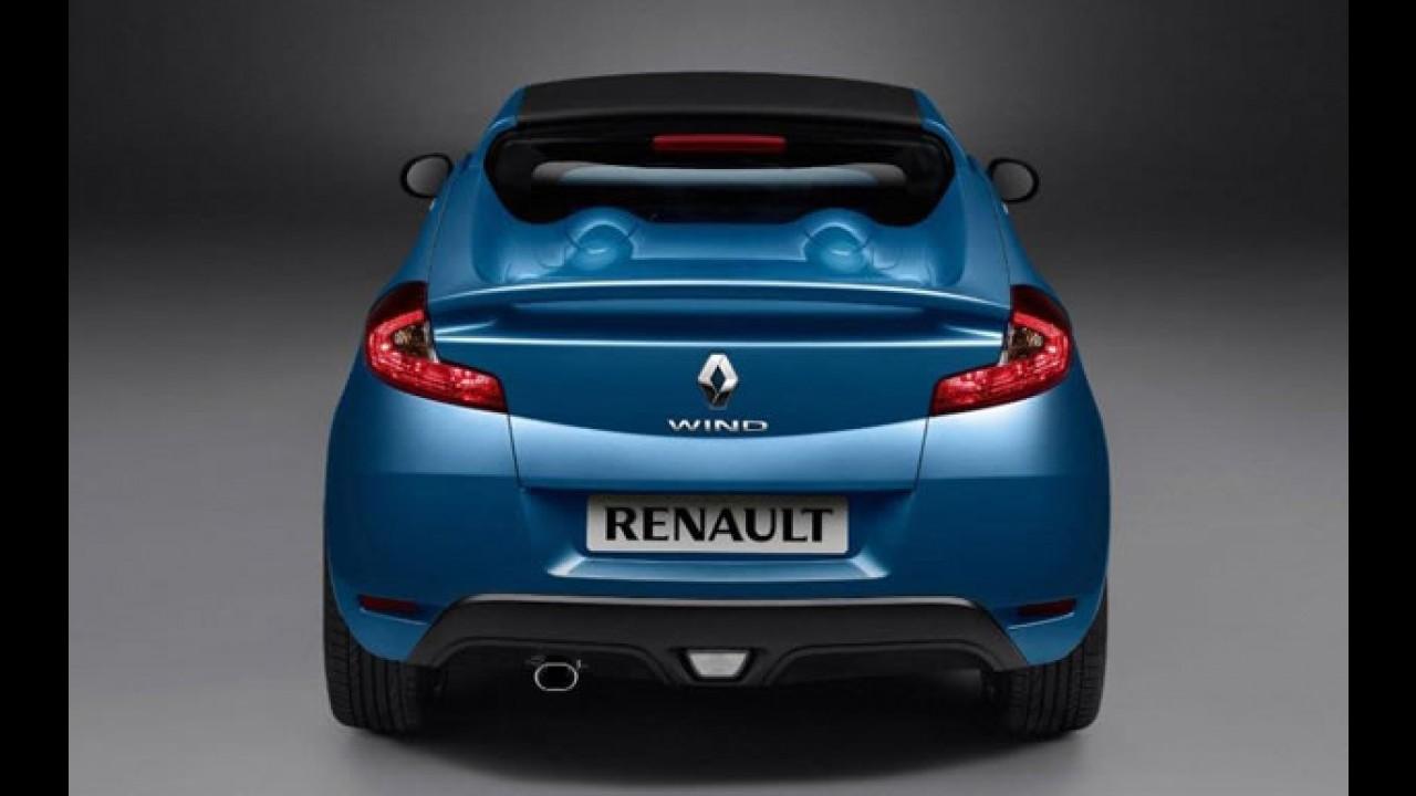 Renault Wind - Novo roadster compacto francês será mostrado no Salão de Genebra