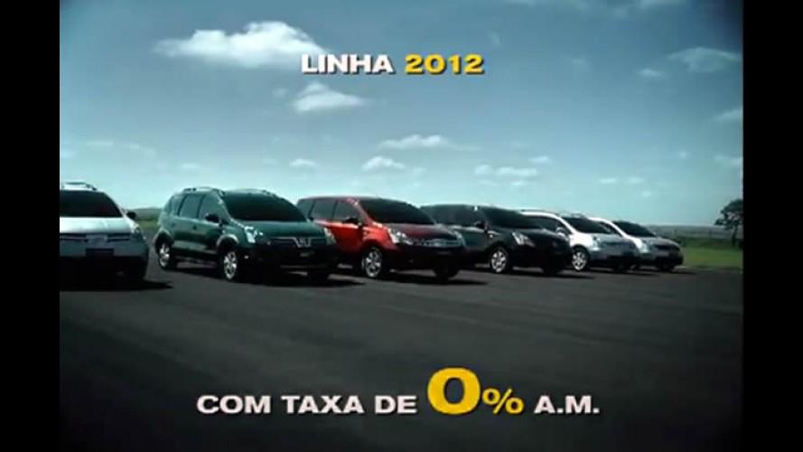 Nissan promove Feirão Nacional com financiamento a juro zero para toda linha 2012