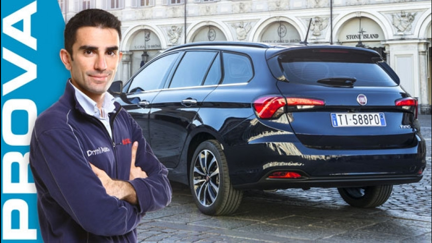 Fiat Tipo, come va la station wagon [VIDEO]