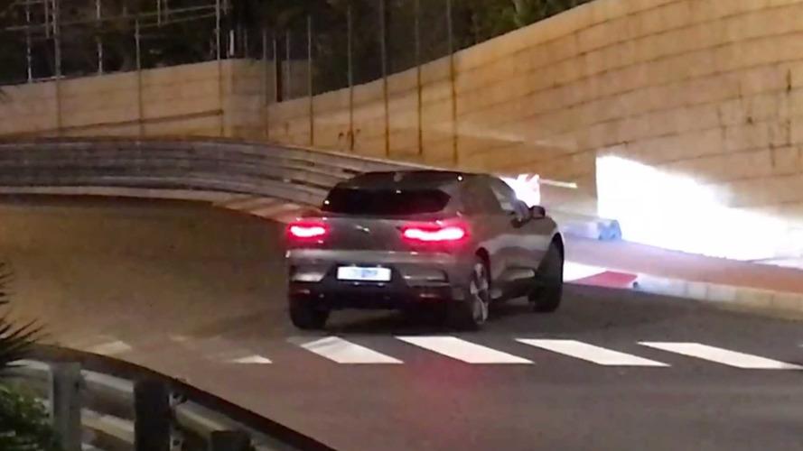 2018 Jaguar I-Pace Monaco'da kamuflajsız yakalandı