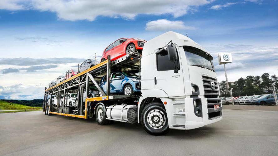 Volkswagen up! - Exportação
