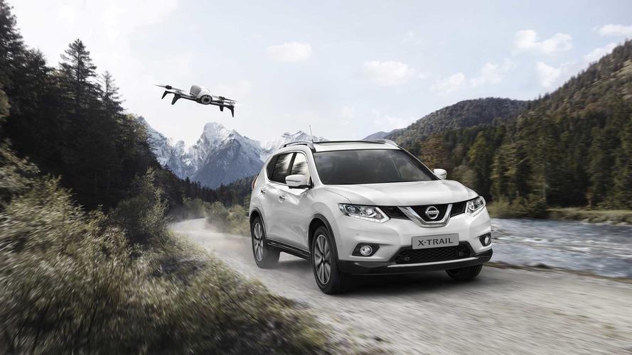 Nissan X-Trail X-Scape 2017, con dron de serie