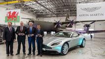 Aston Martin St Athan handover