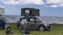 Mini Countryman roof tent