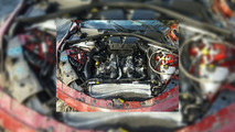Crashed 2017 Alfa Romeo Giulia
