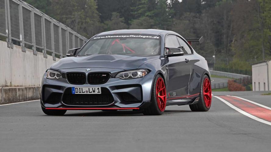 620 bg'lik M3 motorlu BMW M2 CSR