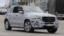 2019 Mercedes GLE yeni casus fotoğrafları