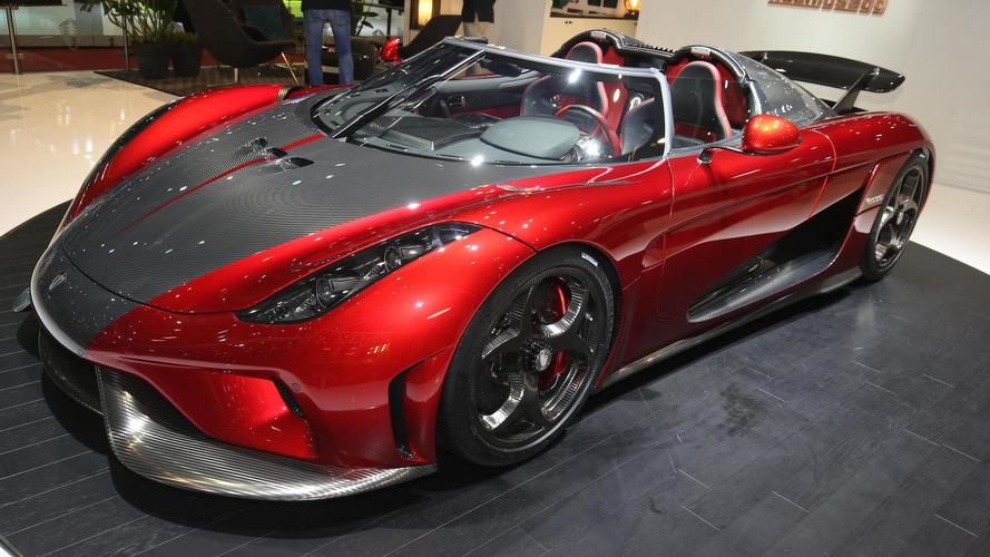 Koenigsegg puts its horsepower on display in Geneva