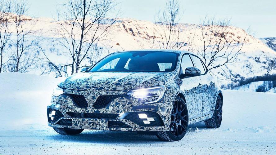 Renault, Megane RS'i karlar içinde gösterdi