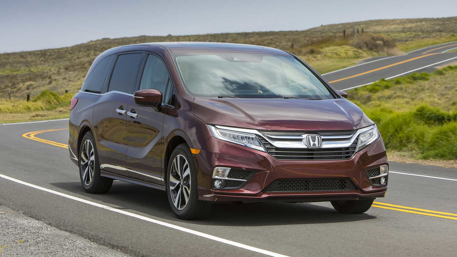 2018 Honda Odyssey Earns Top Crash Ratings From IIHS, NHTSA