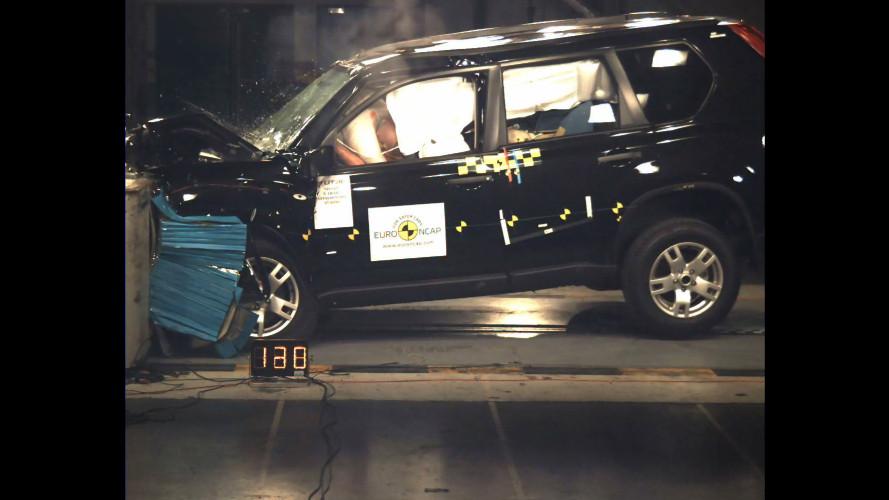 4 Stelle Euro NCAP per Nissan X-Trail