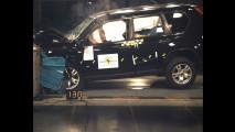 4 Stelle Euro NCAP per Nissan X Trail