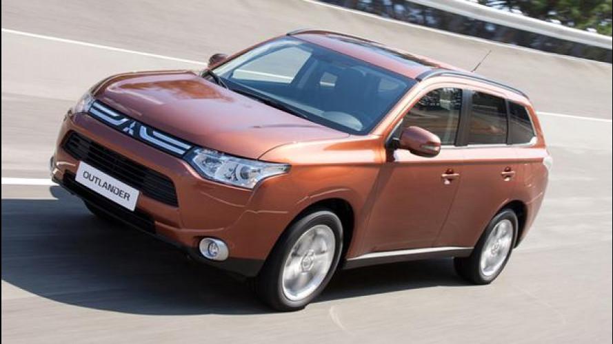 Nuovo Mitsubishi Outlander, salto di qualità