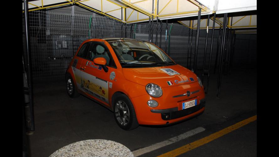 Fiat 500 Overland è arrivata al Motor Show