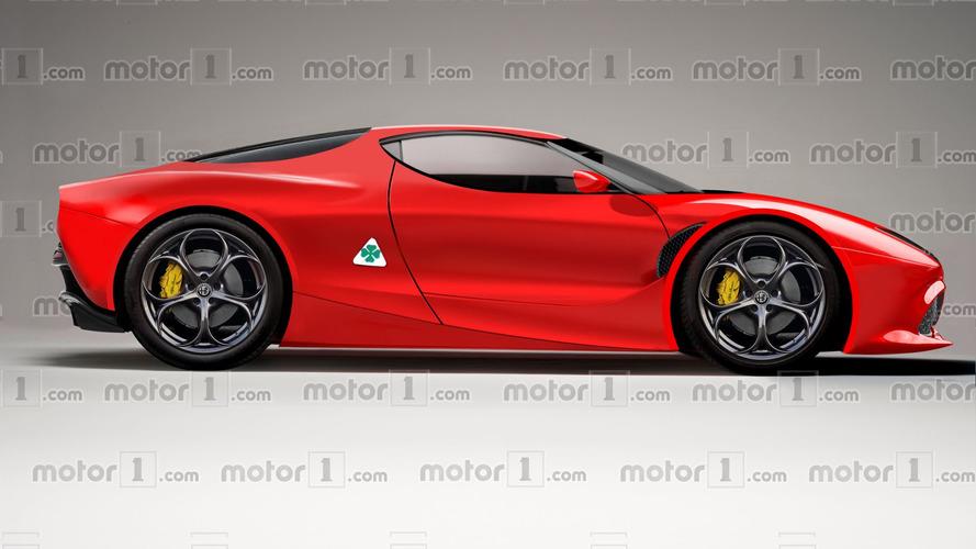 Alfa Romeo 8C, así podría ser la resurrección del mito
