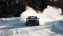 Polestar 1 prototipo rodando en nieve