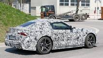 Toyota Supra with production wheels spy photo