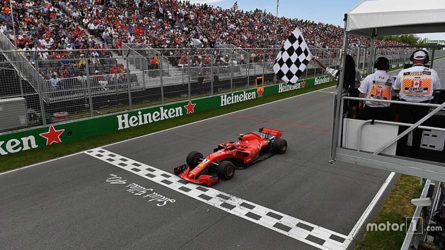 FIA Explains Canadian GP Checkered Flag Incident