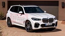 2018 BMW X5 sızan fotoğraflar