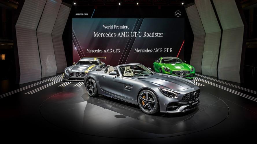 Mercedes-AMG GT C Roadster - Partie comme elle est venue au Mondial!