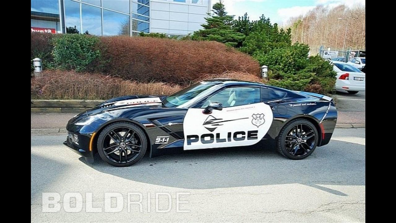 Chevrolet Corvette Stingray Police Car