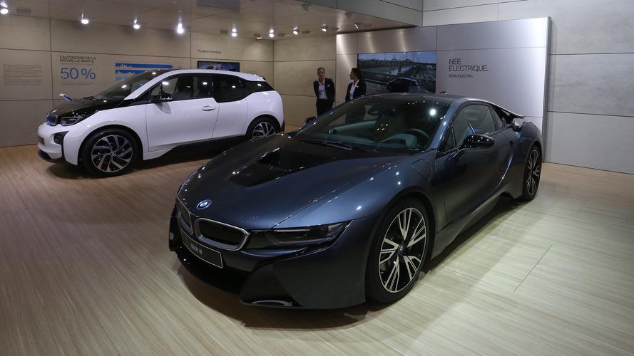 Déjà 100'000 BMW électriques sur les routes !