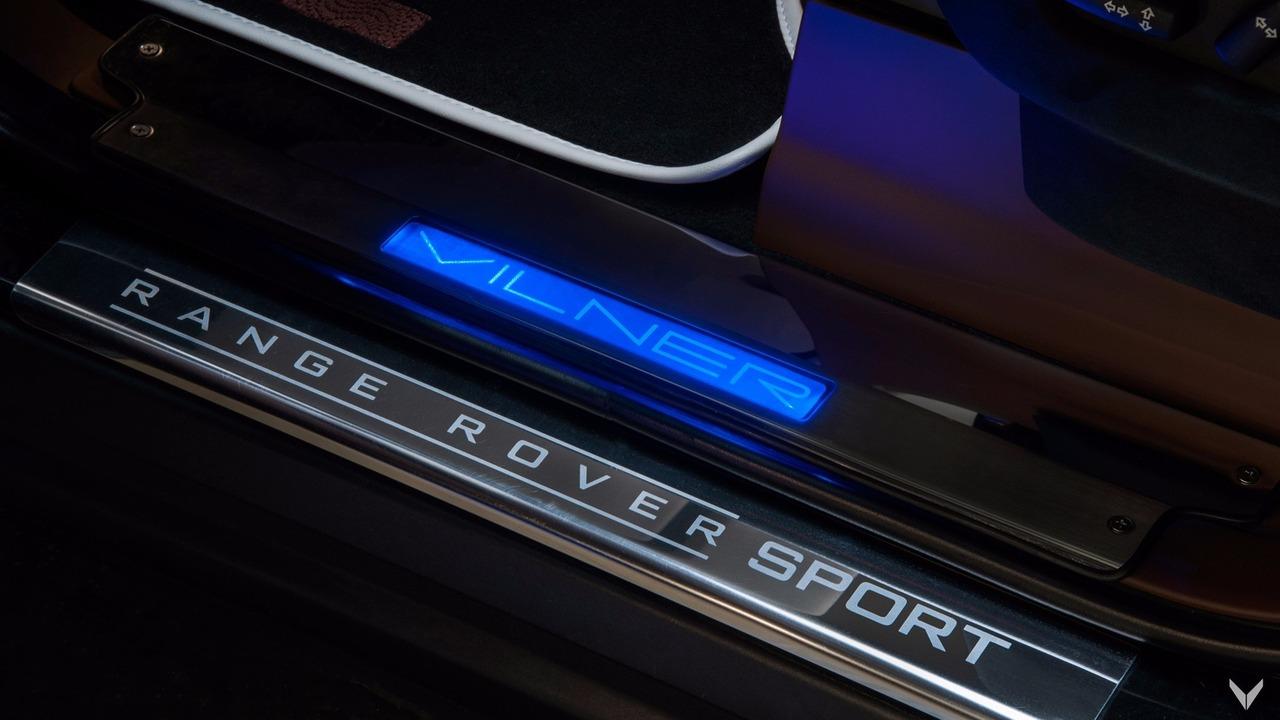 BGT Range Rover Sport Vilner interior
