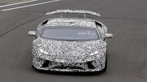 Lamborghini Huracan Superleggera Spy Pics at the Nurburgring