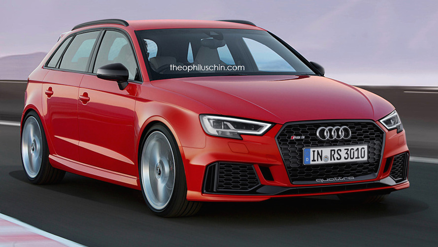 New Audi RS3 Sportback will look like this