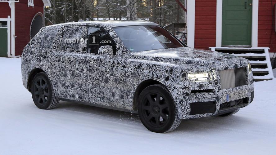 Photos espion - Le Rolls-Royce Cullinan continue de se promener