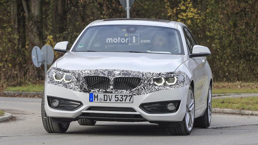 Makyajlı 2018 BMW 2 Serisi Coupe casus fotoğrafları