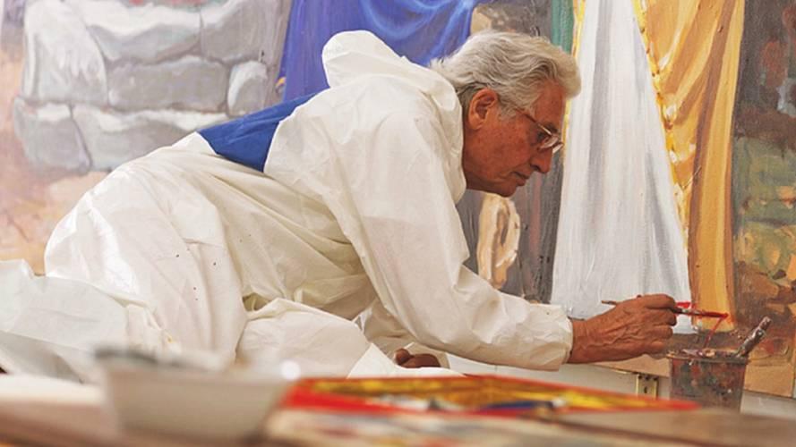 Giorgetto Giugiaro, a 80 anni si riscopre pittore