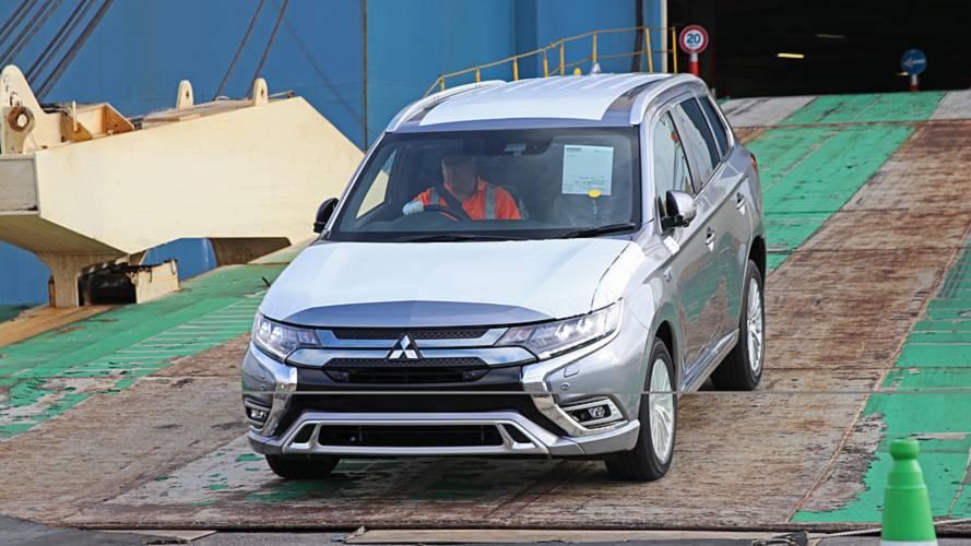 Facelifted Mitsubishi Outlander PHEV Arrives In The UK